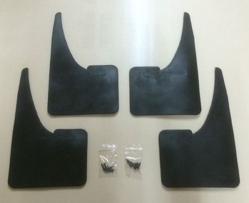 UNIVERSAL MUDFLAPS WITH FITTINGS CAR VAN ETC